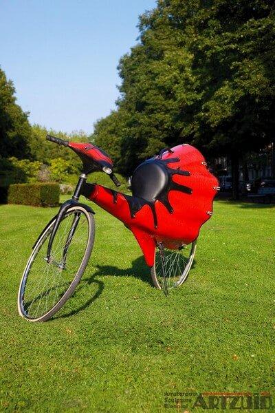"ARTZUID 2009 archief Olaf Mooij - ""Soundbike"""